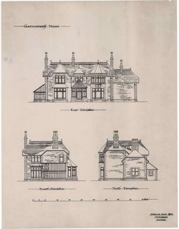 Elevations of Clachnaharry House, Inverness