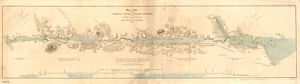 Map or Chart of the Caledonian Canal, or Inland Navigation from the Western to the