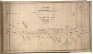 Plan of the boundary line between the Inchbelly Road and Stirling's Road