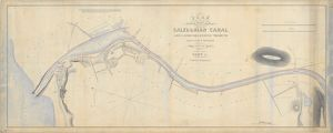 Plan of the Caledonian Canal and lands belonging thereto Part I