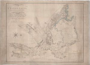 Plan of the Crinan Canal between the Lochs of Crinan and Gilp in the County of Argyll