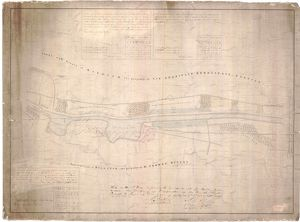 Plan of the Forth and Clyde Canal through the lands of Thomas Duncan at Craigmarloch
