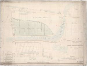 Plan of the ground belonging to James Haig Esquire lying contiguous to Lochrin Distillery