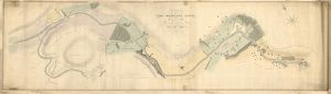 Plan of the Monkland Canal from Coats Lands to the Termination at Wood Hall Bridge