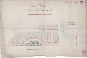 Union Canal, Feuing Plan at Gardner Hall